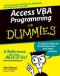Access VBA Programming for Dummies (Engels)