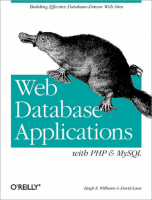 Web Database Applications with PHP & MySQL (Engels)